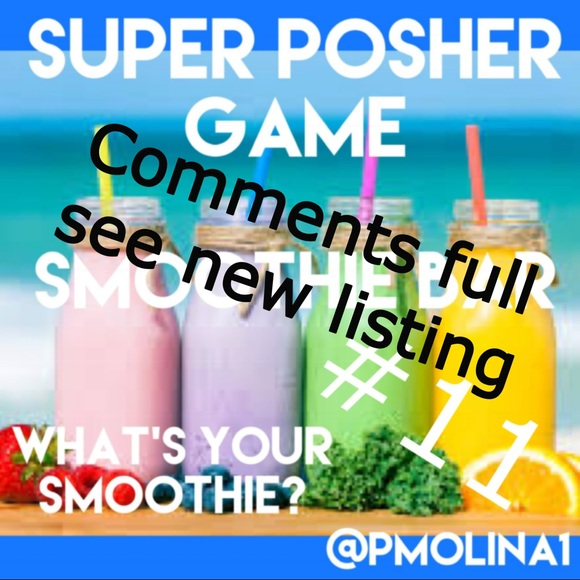 super posher Other - Comments full see new listing share with pff's🍓🥤